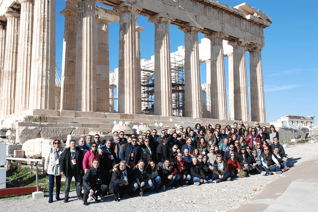 CONVENCIÓN HEEL GRECIA: FOTO DE GRUPO