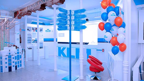 POP UP KLM: INSTALACIONES