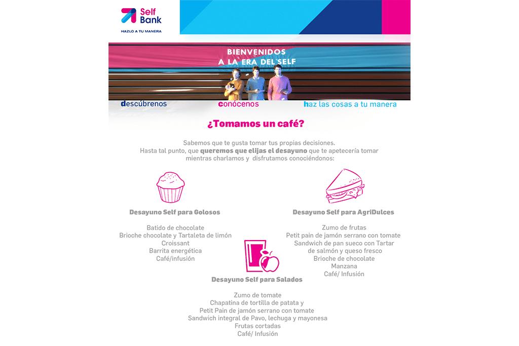 PRESENTACIÓN A PRENSA SELF BANK: IMAGEN GRÁFICA