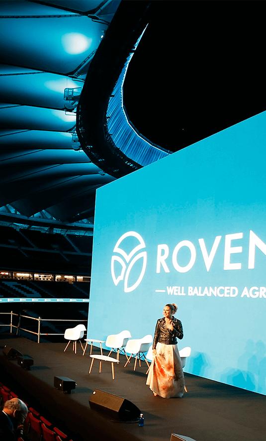 Presentación Rovensa al equipo directivo internacional y empleados